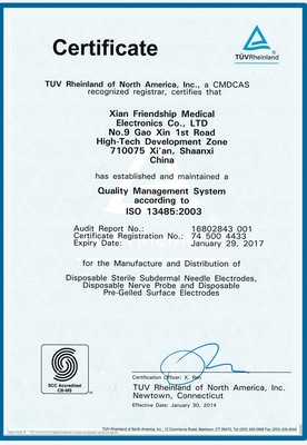 加拿大CMDCAS注册证书